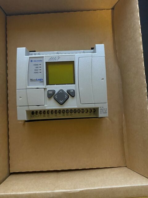 Allen-Bradley MicroLogix 1100 Controller 1763-L16BBB Ser. A Rev. C FRN 3