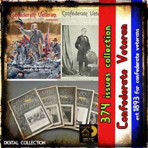 Civil-War-magazine-newspaper-The-Confederate-Veteran-374-issues-est-1893