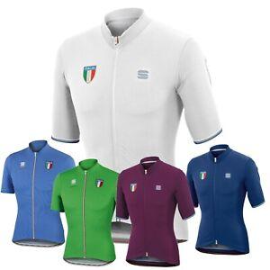 Sportful-Castelli-Italia-Men-039-s-Cycling-Jersey-5-Amazing-Colors-Retro-Style