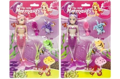 Bambini Giocattolo Regalo SIRENA bambola giocattolo a buon mercato Ragazza Regalo di Natale Stocking Filler