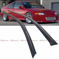 Window Shade Sun Rain Weather Guard Visors fits for 92-95 Honda Civic Coupe EG