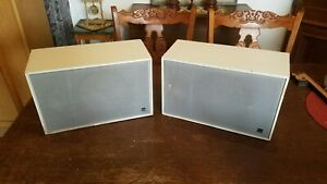 Ein Paar von Dual CL 135 Lautsprecher Boxen aus den 70er .