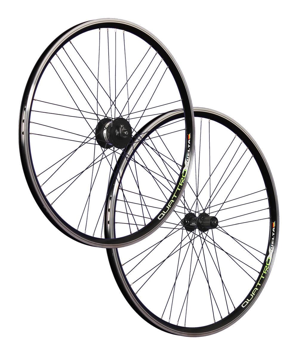 VUELTA 28 pollici set ruote bici Airtec1 Shimano DH-3N30 Deore 610 622-21 black