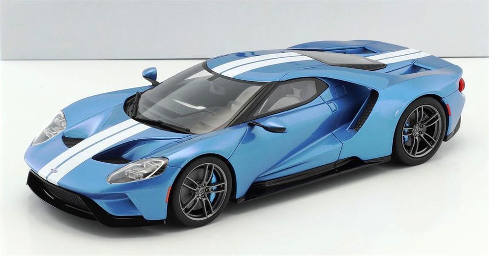 Ford Gt in Blau Metallic in 1 18 von Gt Spirit