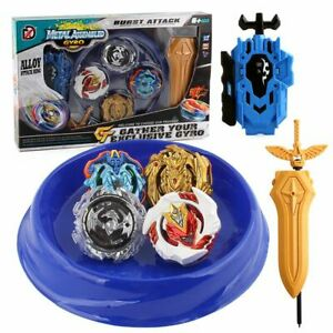 4PCS-Boxed-Beyblade-Burst-4D-Set-With-Launcher-Arena-Metal-Fight-Battle-Xmas-Toy