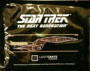 Enterprise Dedication Plaque Sticker Lootcrate Exclusive|ovp GroßEs Sortiment EntrüCkung Star Trek Tng