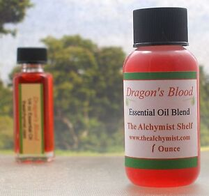 Details about Dragon's Blood Essential Oil Special Wiccan Craft 1 oz Pagan  Altar Ritual Spell