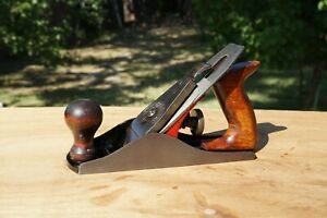 Vintage-Millers-Falls-No-9-Jack-Plane-Smooth-Bottom-Made-In-USA-Nice