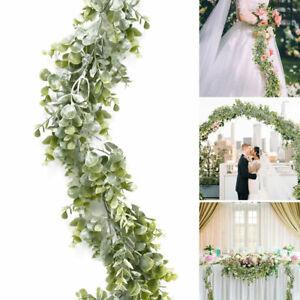 6-3Ft-Artificial-Fake-Eucalyptus-Garland-Plants-Greenery-Foliage-Wedding-Decor
