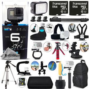 GoPro-Hero-6-Black-4k-Ultra-HD-12mp-WiFi-wasserdichte-Action-Kamera-Mega-Kit