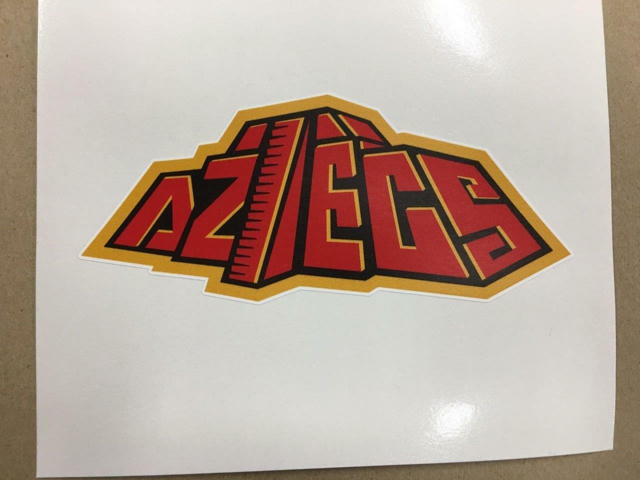 San Diego Aztecs cornhole board or vehicle decal(s)SDA1   welcome to buy