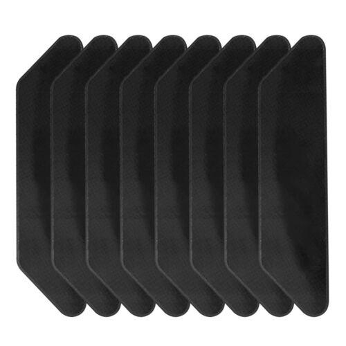 8Pcs Reusable Rug Sticker Carpet Pad All Floor Types Grip Non-Slip Tape