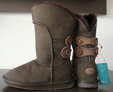 EMU AUSTRALIA ALBA W10088 Boots Braun Damen Stiefel Leder Schuhe Gr.35/36 NEU