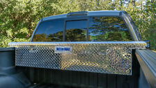 70 Truck Tool Box Pickup Cab Storage Aluminum Low Profile Tools Container New