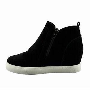 Hi-Top Platform Wedge Sneakers 82460