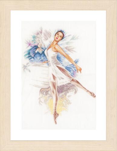 1x Kit Punto de hilo cruzada contada Bailarina ropa de Costura Artesanía Herramienta Hobby Art
