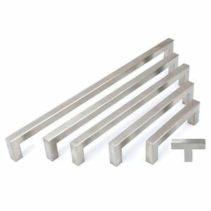 Attrayant Image Is Loading 5 10 25 Cabinet Pull Square Drawer Handles