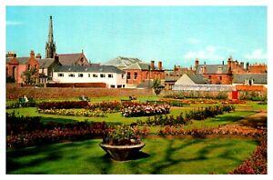 Postcard-SPRINGFIELD-GARDENS-ARBROATH-Ref-D11