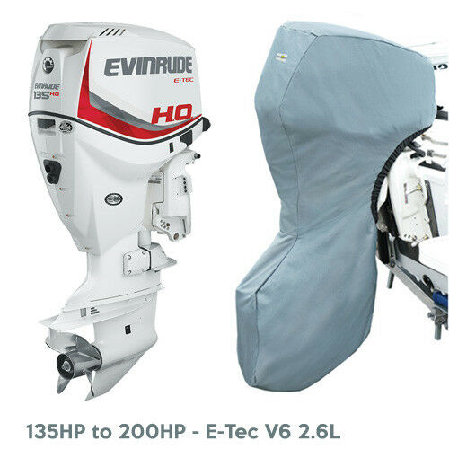 Evinrude Outboard Motor Engine Full Cover Protect Cover