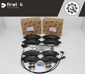 BRAND-NEW-GENUINE-FORD-TRANSIT-CUSTOM-2012-ONWARDS-FRONT-amp-REAR-BRAKE-PADS-DP4