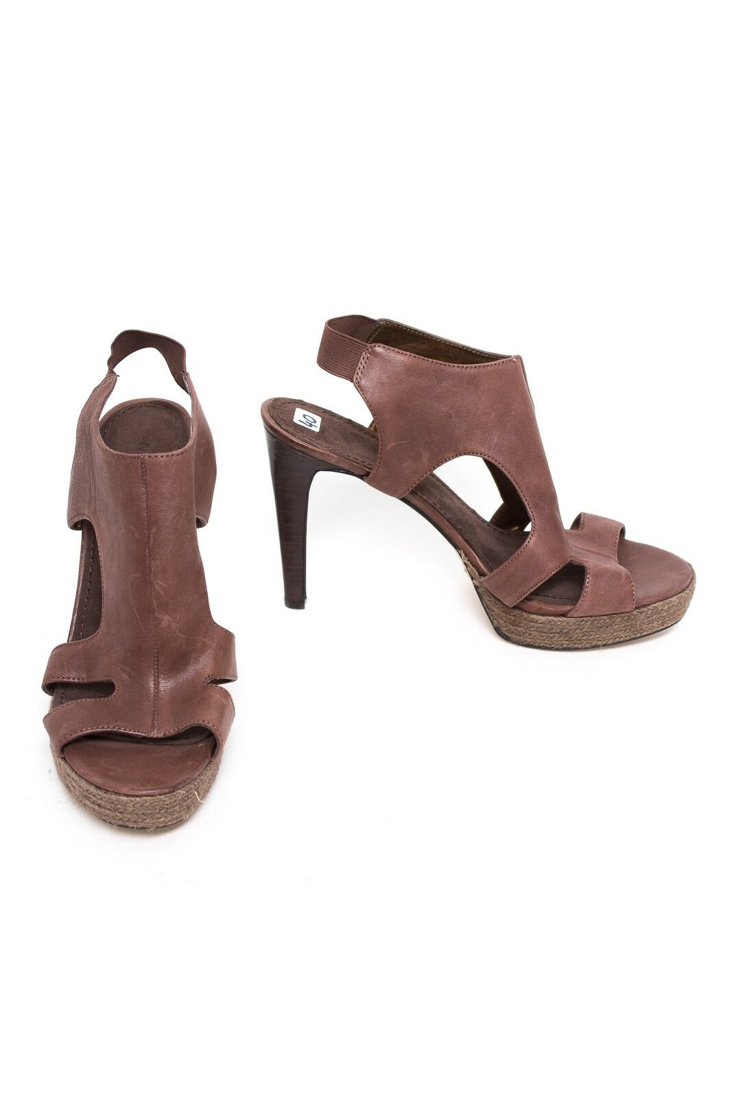 NINE WEST Sandalen Gr. EU 40 Damen Schuhe Pumps Pumps Pumps High Heels Leder c44e53