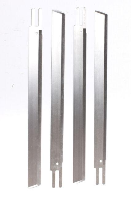 "Eastman Straight Cutting Machine 6"" Knife Blades - 12 Pack - US Seller"
