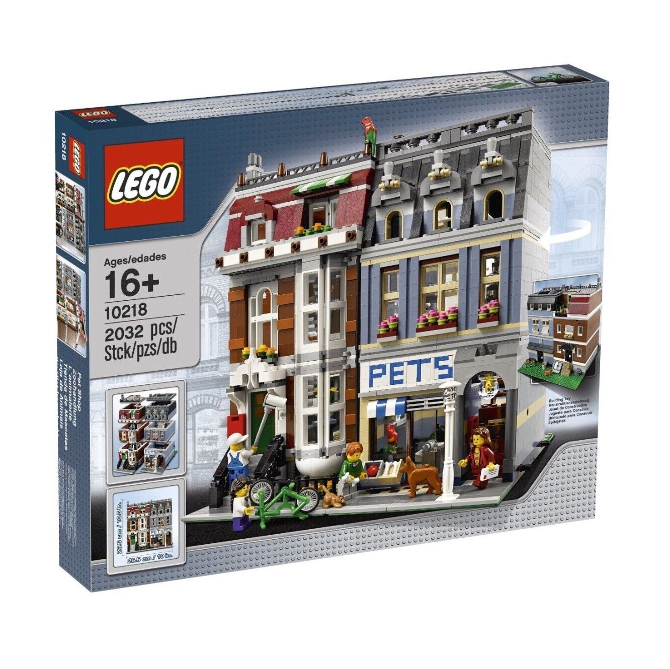 LEGO 10218 Pet Shop, Modular Building, CREATOR EXPERT, New