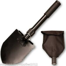 NATO STYLE MINI TRI FOLDING SHOVEL LIGHTWEIGHT SPADE TOOL PICK BRITISH US ARMY