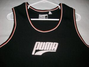 Details about Puma Basketball Vintage Black Jersey Men's Size 48 XL used