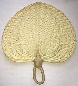 "5 Weaved Buri Gift Tote Bags Hawaiian Basket Storage Hawaii Hula Supply 7/""x5/""x2/"""