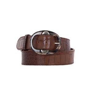 PostCo Cintura 189 stampa € in marrone Uvp gr90 00 pelle Croco ex YI7y6vbfg