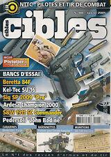 CIBLES N° 418--BERETTA 84F/KEL TEC SU-16/SIG SP 2009 PRO/ARDESA CHAMPION 2000