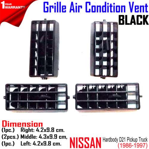 DASH AIR HEATER VENTILATOR VENT GRILLE Fits Nissan Navara D21 Hardbody  Pickup