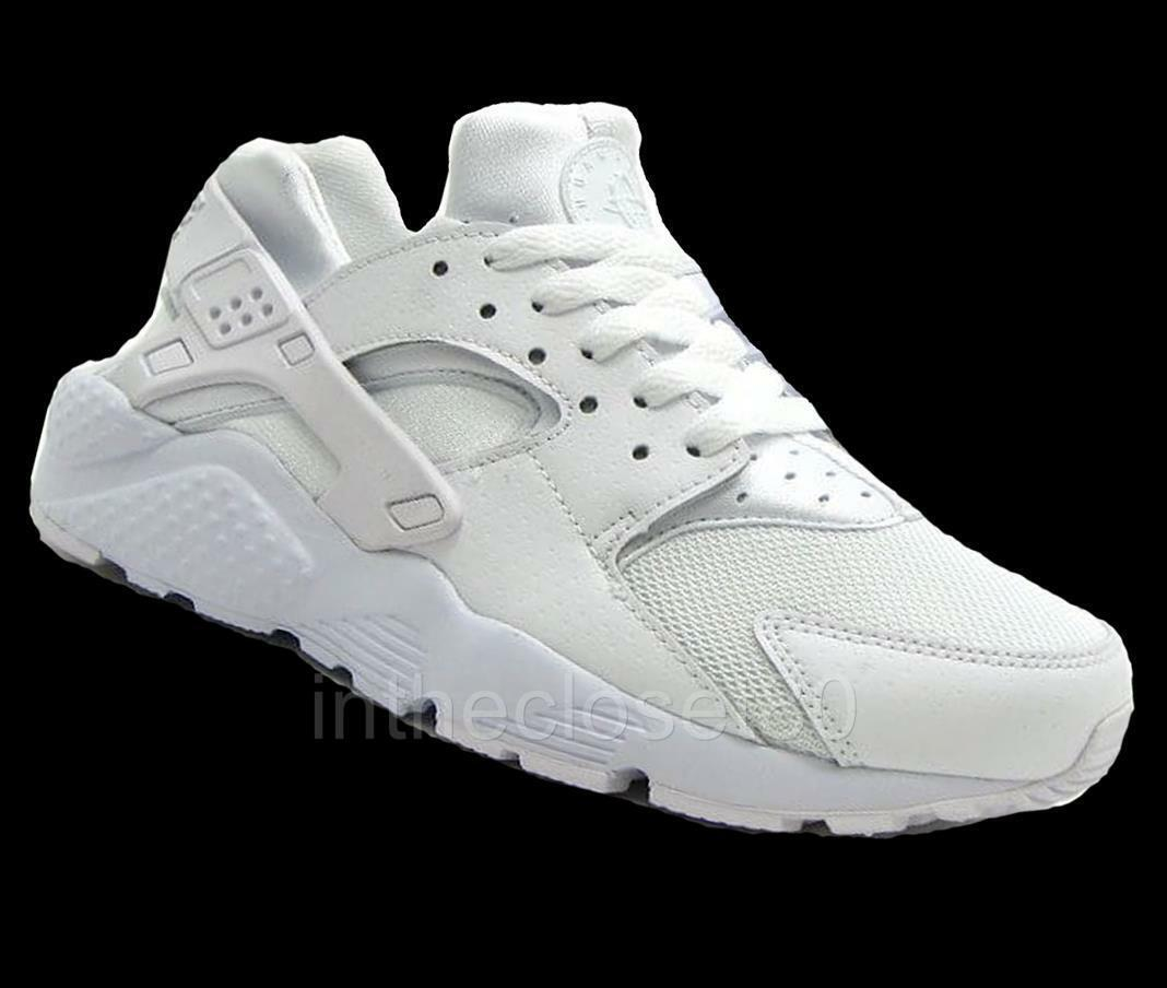 Nike Air Huarache GS Triple Weiß Juniors damen Girls Boys 654275 110