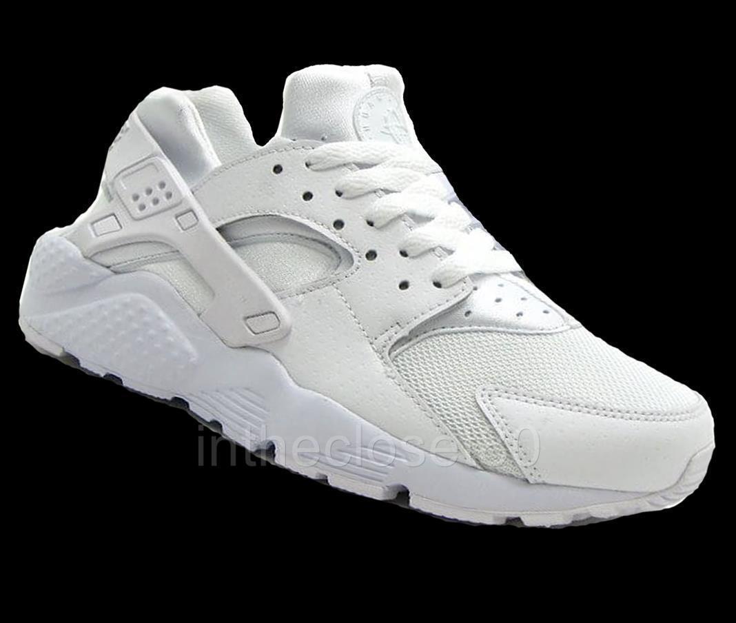Nike blanc Air Huarache GS Triple blanc Nike Juniors femmes Girls Boys 654275 110 e4d58b