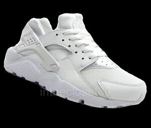 nike huarache black and white junior nz