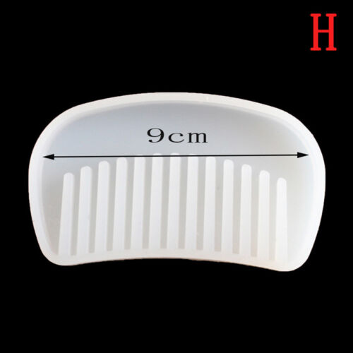 3D Transparent Silicone Comb Mold Epoxy Resin Molds For DIY Jewelry Making Tool