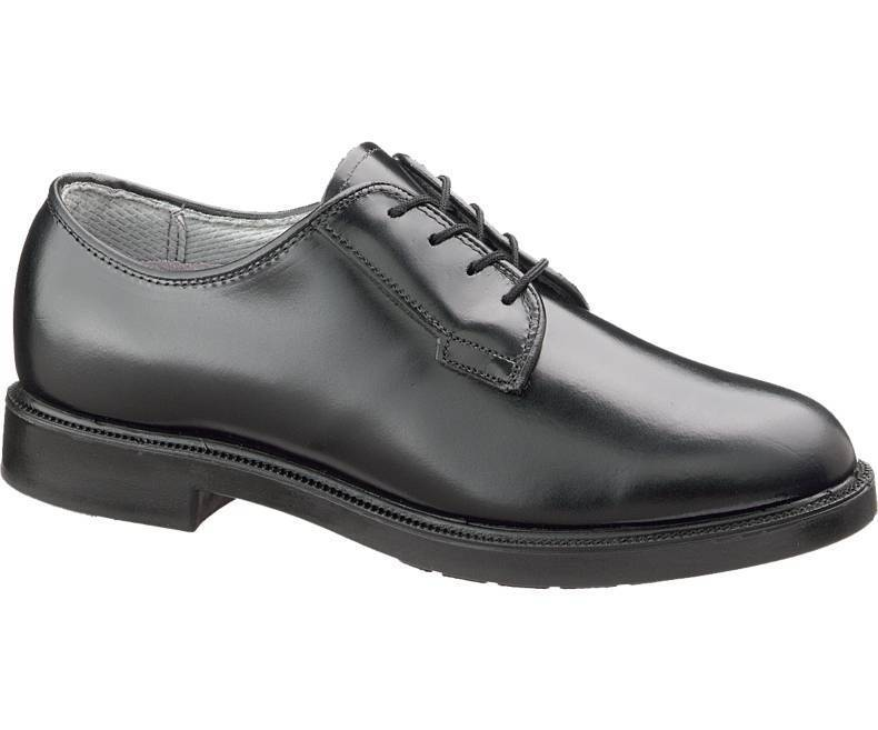 155.00 Bates  00752 Leather DuraShocks Oxford, Black,  Size 10 N