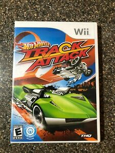NEW-Hot-Wheels-Track-Attack-Nintendo-Wii-2010-Factory-Sealed-Brand-New