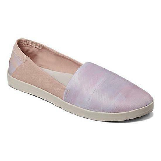 NEW Donna REEF ROSE TX TX TX TX ROSE TAUPE PAINT rosa LAVENDER SLIP ON   363fbc