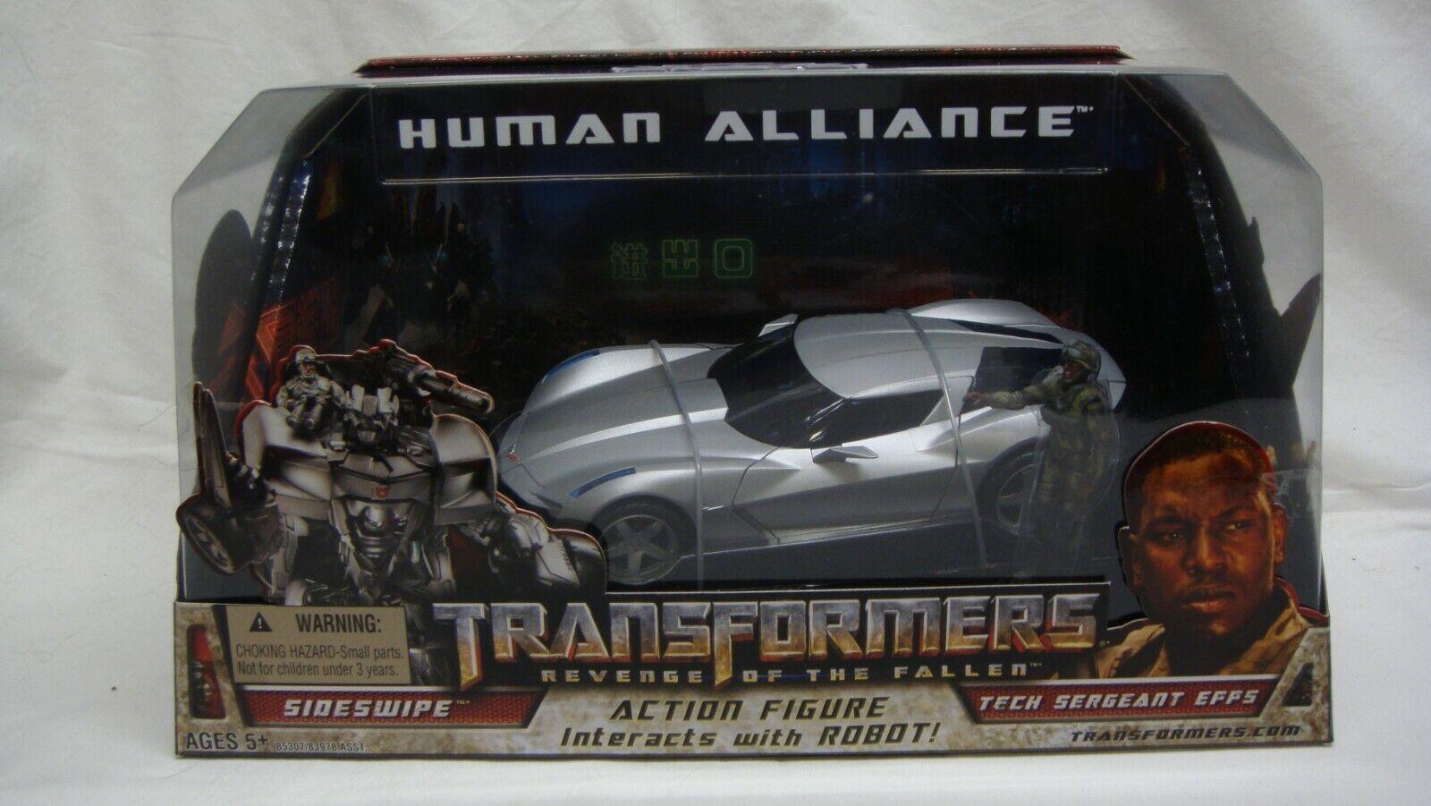Transformers la venganza de los caídos Alianza Humana Sideswipe Tech Splata Epps Nuevo Sellado Raro