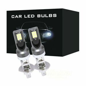 H1-110W-24000Lm-Car-Headlight-Conversion-Globes-Bulbs-Beam-6000K-LED