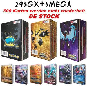 NEUE-Original-300-STUCKE-295GX-5MEGA-Pokemon-Karte-Pokemon-Nicht-wiederholen