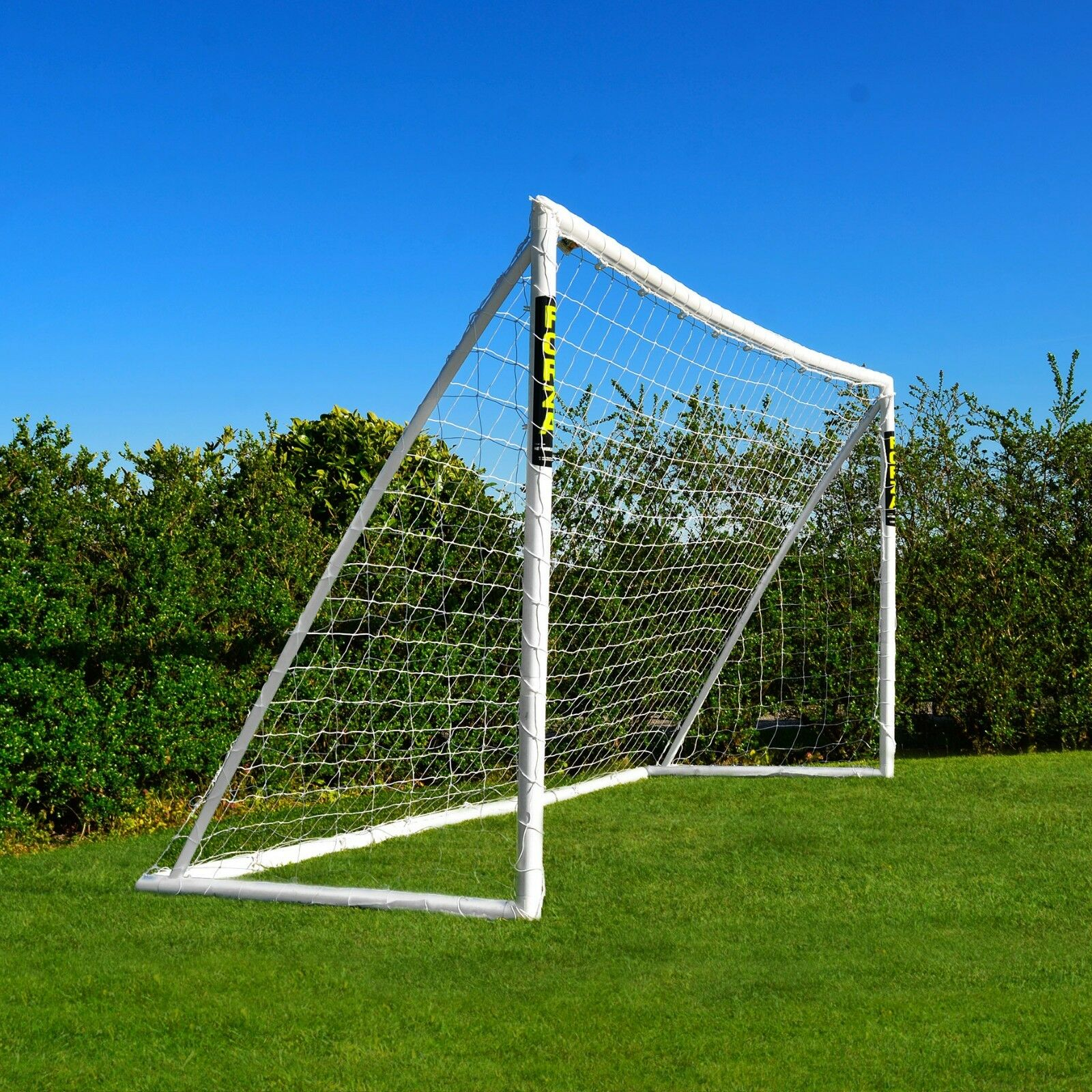 FORZA 3,7m de x 1,8m But de 3,7m Foot uPVC de jardin pour enfants [Net World Sports] 541652