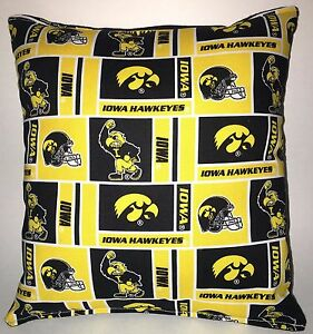 IOWA-Pillow-Iowa-Hawkeyes-University-Pillow-NCAA-HANDMADE-IN-USA