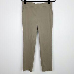 Counterparts Plata Tire De Carrera De Color Caqui Pantalones Talla 8 Para Mujer Ebay