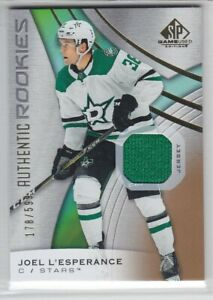 2019-20-UD-SP-GAME-USED-JOEL-L-039-ESPERANCE-RC-JERSEY-599-AUTHENTIC-ROOKIE-Stars