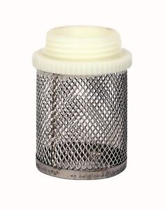 """Stainless Steel Mesh Filter.  Male BSP Thread.  1/2"""" To 4"""""""