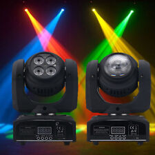 80W Double Sides RGBW Spot 4LED Moving Head Stage Light DMX512 DJ Party  Lighting