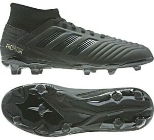 Adidas-Predator-18-3-FG-Firm-Ground-Soccer-Cleats-Black-CP9303-Men-s-Size-11-5